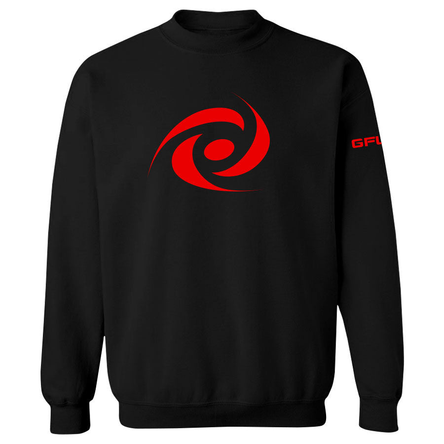 G FUEL Energy Crewneck - Red on Blk