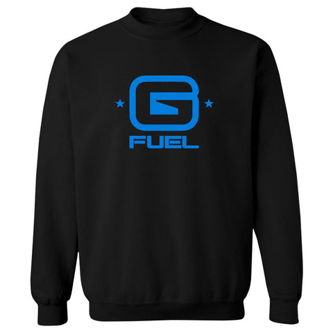 G FUEL G Crewneck - NBlu on Blk