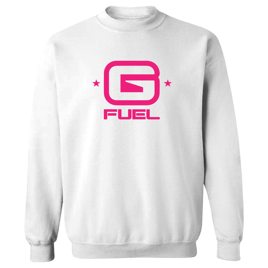 G FUEL G Crewneck - NPnk on Wht