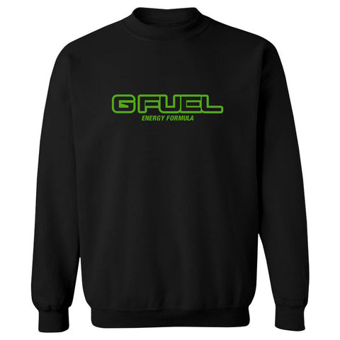 G FUEL Formula Crewneck - AGrn on Blk