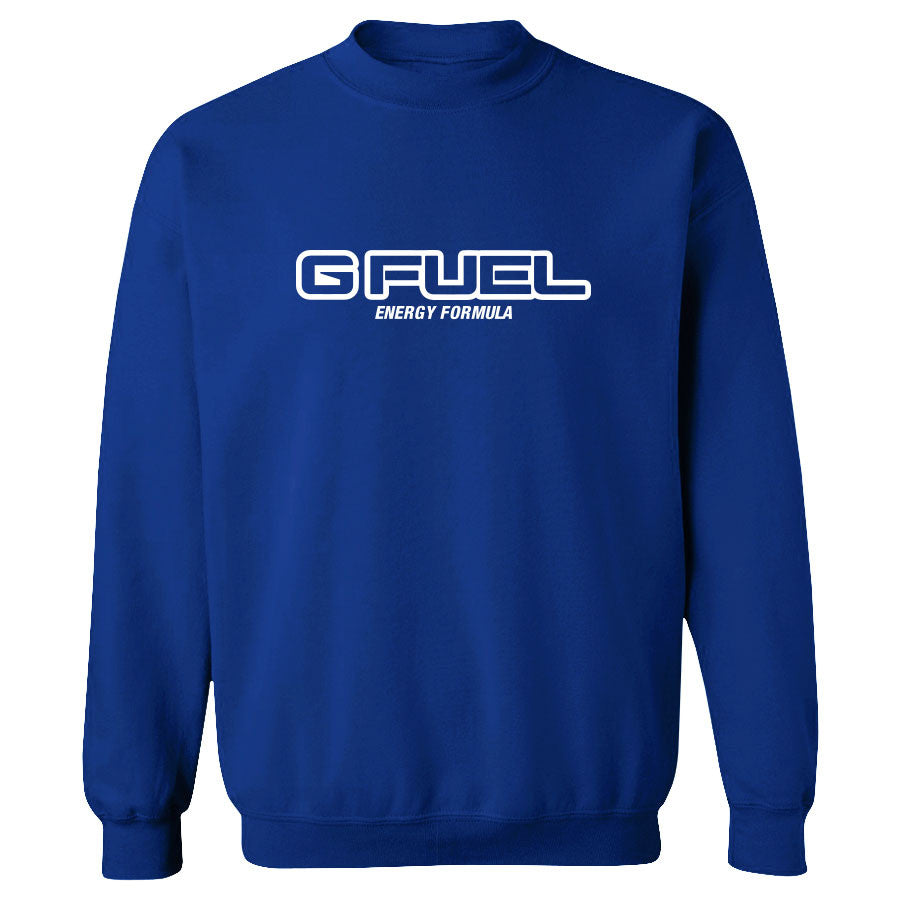 G FUEL Formula Crewneck - Wht on Ryl
