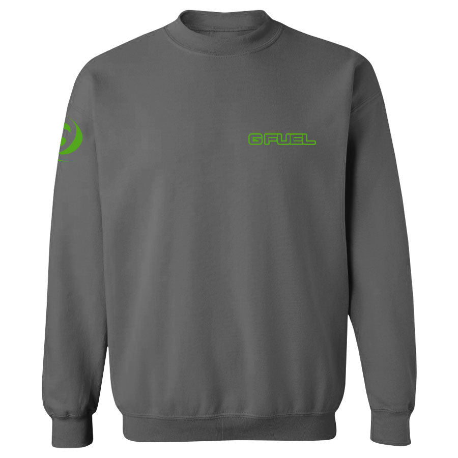 G FUEL Maximize Crewneck - AGrn on Chcl