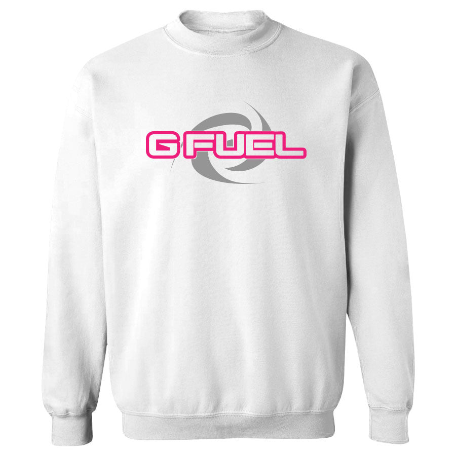 G FUEL Supercharge Crewneck - NPnkGry on Wht