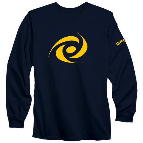 G FUEL Energy Long Sleeve - Yel on Nvy