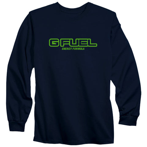 G FUEL Formula Long Sleeve - AGrn on Nvy
