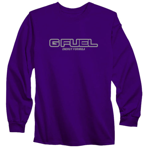 G FUEL Formula Long Sleeve - Gry on Prp