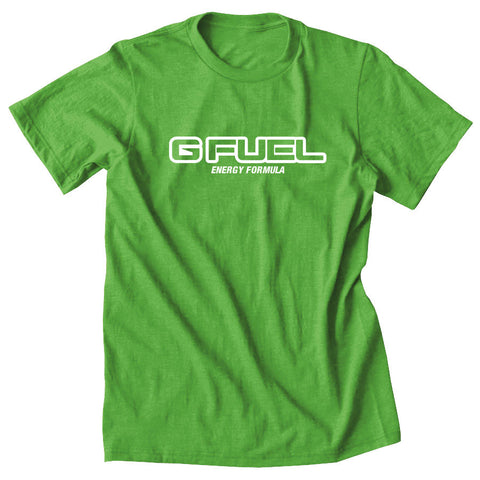G FUEL Formula Short Sleeve - Wht on LGrn