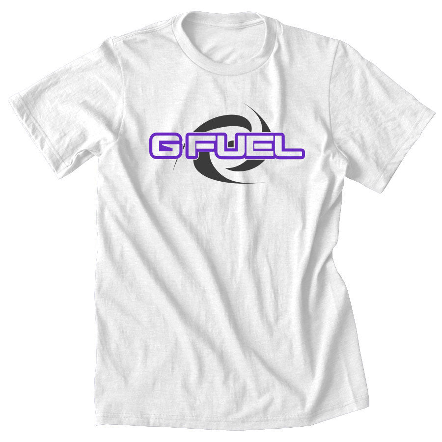 G FUEL Supercharge Short Sleeve - PrpDGry on Wht