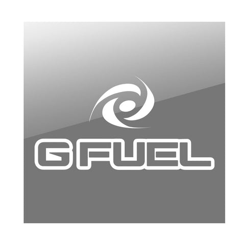 "G FUEL 11"" Combo Vinyl Sticker - Wht"