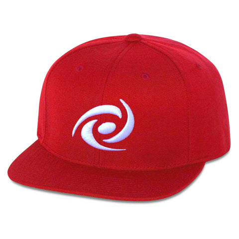 G FUEL 6 Panel Snapback Hat -  Wht on Red