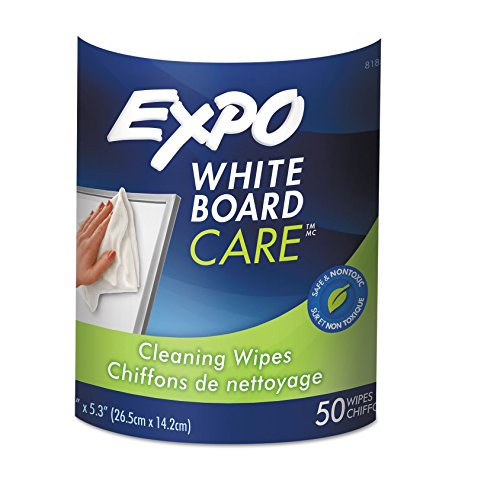 SAN81850 - Expo Dry-Erase Board-Cleaning Wet Wipes