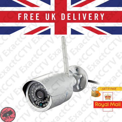 2.0MP / 1080p Full HD Wireless Outdoor IP Bullet Camera