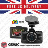 Dome GS98C Super HD 1296p Car Dash Camera