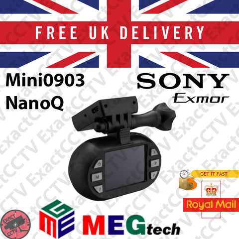 Mini 0903-lite / Nano Q-lite 2MP (1080p) Car Dash Camera & DVR with GPS & CPL Kit