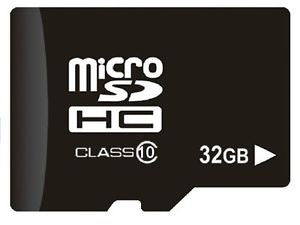 32GB / 64GB / 128GB Micro SD (SDHC) Card - Class 10 for CCTV and Dash Cameras