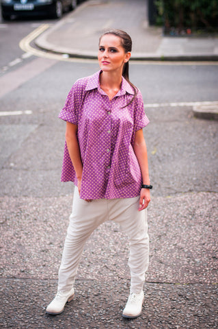 Pretty in Polka Lilac Shirt