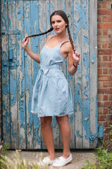 Summer Blues Pinafore
