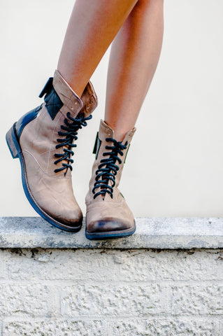 Stylish Boots with a Bow