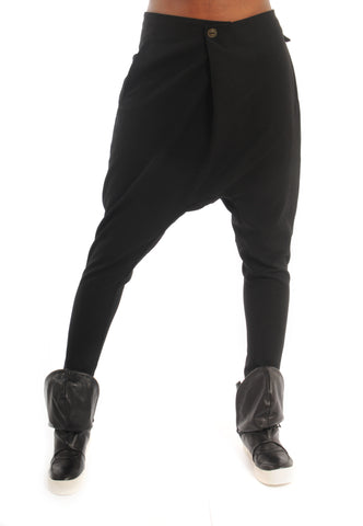Drop the Bass Black Slouchy Pants