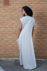 long stylish comfy dress