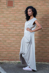Drape Now or Never Maxi  Dress