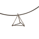 TRIANGLE - SILVER - TR015 1 Triangle Pendant