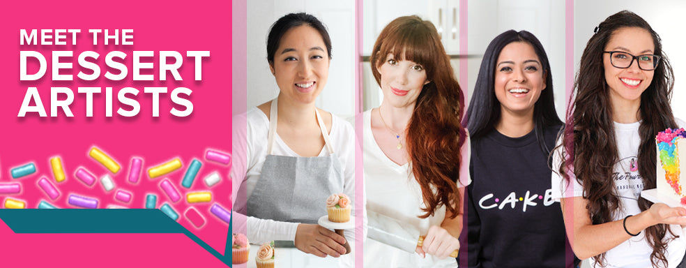 Meet the #BakeYouHappy Dessert Artists