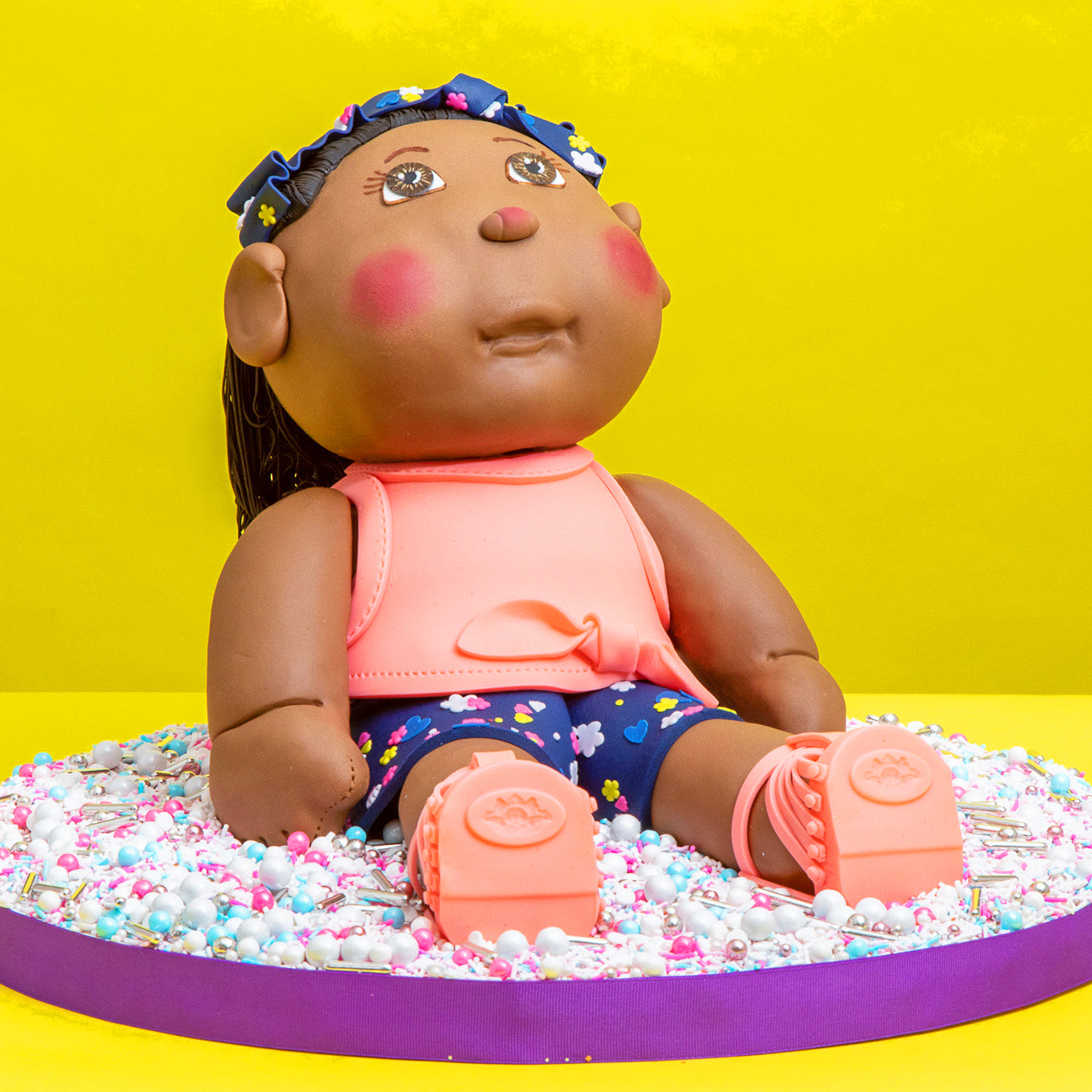 Cabbage Patch Kids Cake