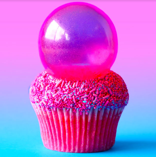 Nick's Bubblepop Electric Cupcakes