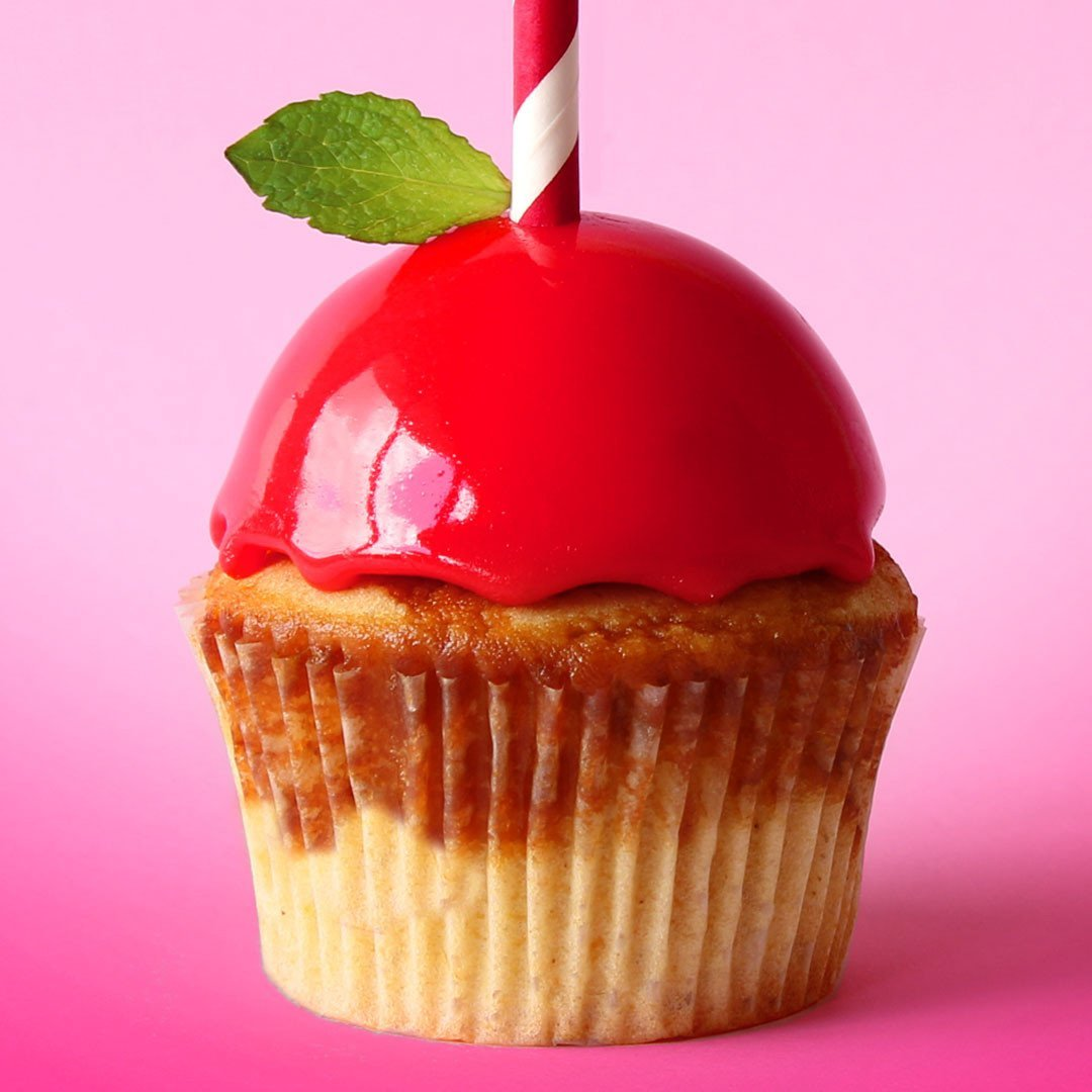Nick's Candy Apple Cupcakes!