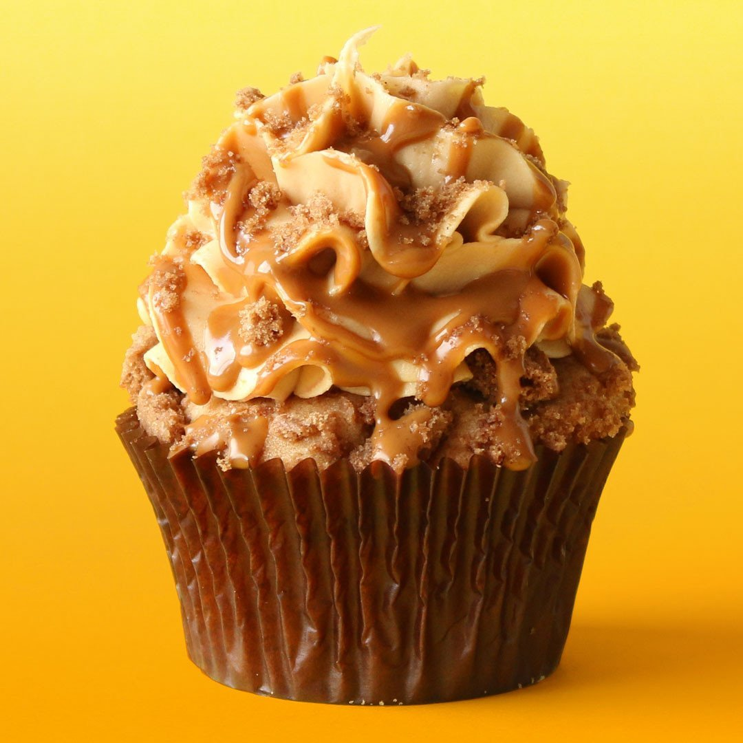 Nick's Cookie Butter Cupcakes