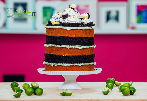 Key Lime Pie Mega Cake with Lime Infused Vanilla Cake, Lime