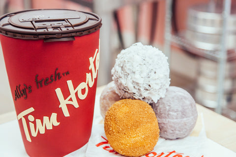 How To Cake It Yolanda Gampp Tim Horton's Cake Giant Timbits