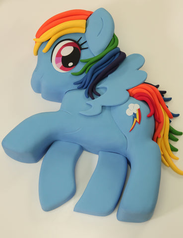 rainbow dash cake template rainbow dash my little pony cake vanilla cakes layered
