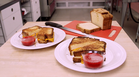 How To Cake It Yolanda Gampp Grilled Cheese