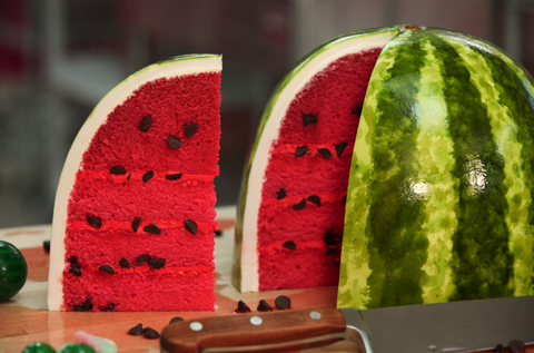 How To Cake It Yolanda Gampp Watermelon Cake