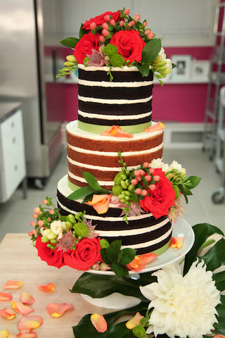 How To Cake It Yolanda Gampp Naked Wedding Cake