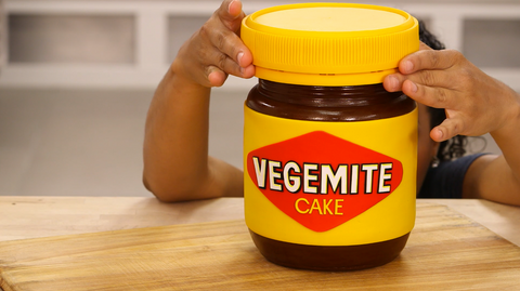 How To Cake It Yolanda Gampp Vegemite Jar Cake