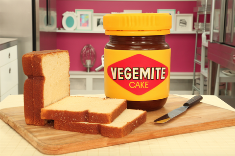 How To Cake It Yolanda Gampp Vegemite Jar Cake Chocolate Cake