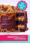 Chocolate Peanut Butter Mega Cake Live Baking Tutorial