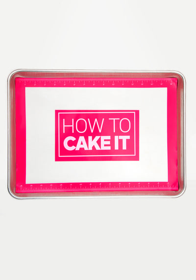 Official How To Cake It Nonstick Mat