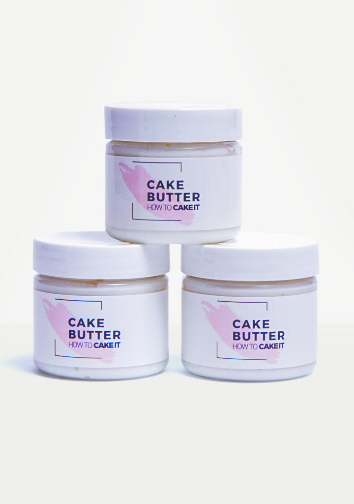 Cake Butter: Vanilla Buttercream Scented Body Butter