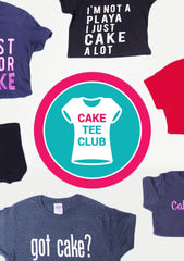 Cake Tee Club Membership (12 Months Subscription)