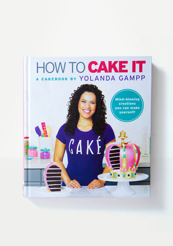 - New - How To Cake It: A Cakebook by Yolanda Gampp - Hardcover