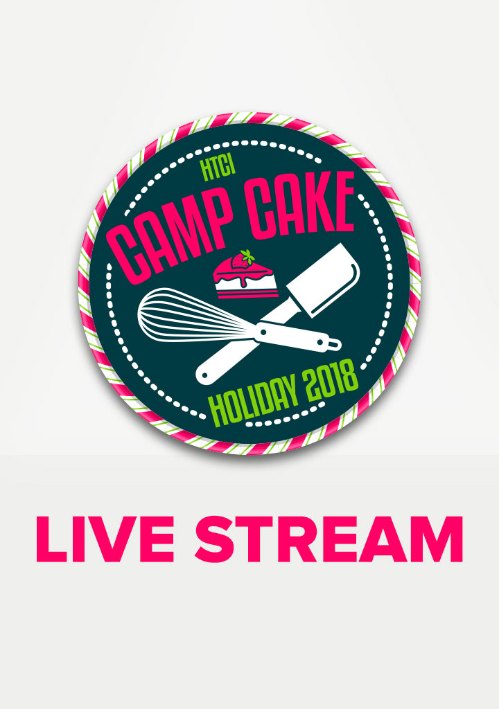 Camp Cake Holiday Live Stream