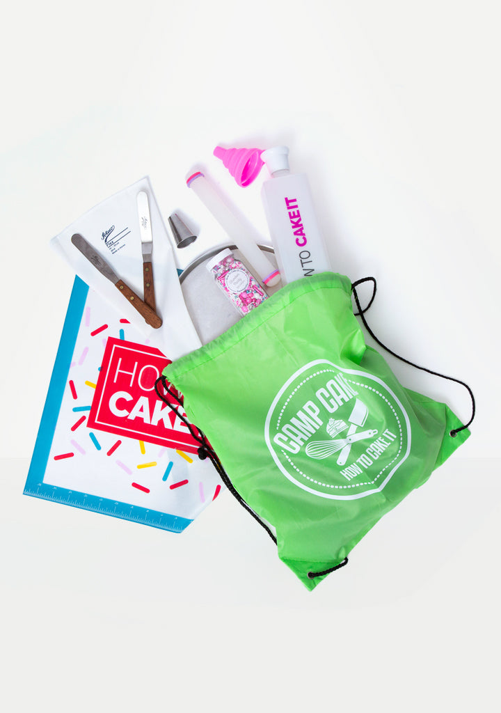Camp Cake Deluxe Slumber Party Bundle