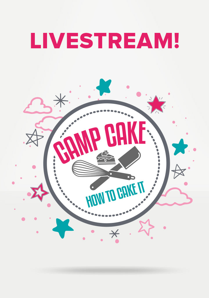 Camp Cake: Slumber Party Livestream