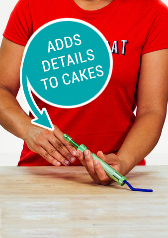 Makin's Professional Ultimate Clay Extruder - Great for adding details to your cakes!!