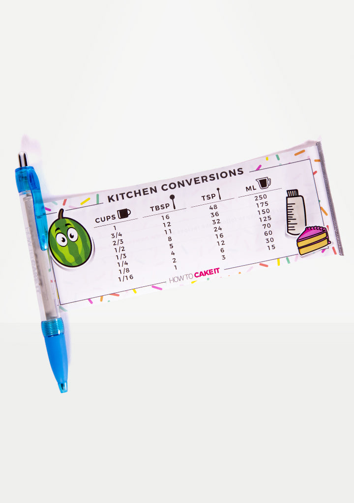 Conversion Chart Pen