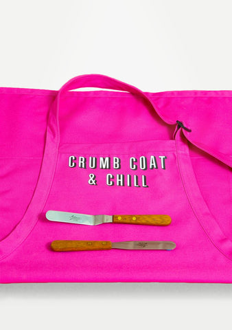 CRUMB COAT & CHILL APRON & SPATULA COMBO - BY REQUEST! AND PINK!